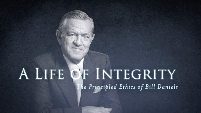 A Life of Integrity video screenshot