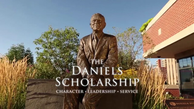 Daniels Scholarship Program video screenshot